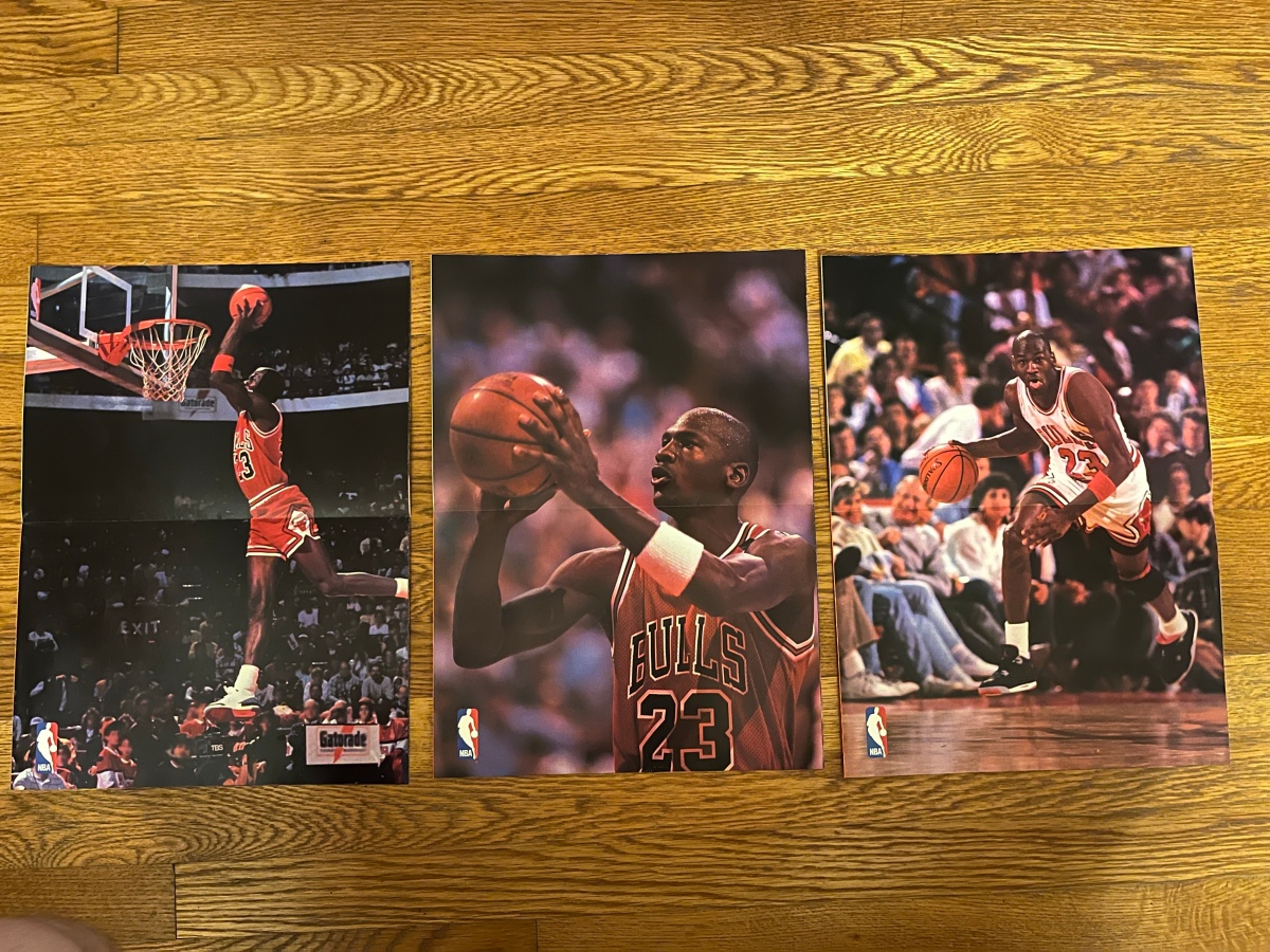 Michael Jordan WheatiesPoster